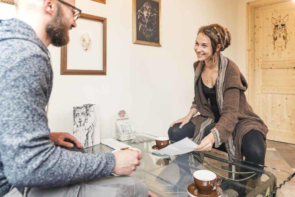 Kundentermin mit Anki Mama Quilla